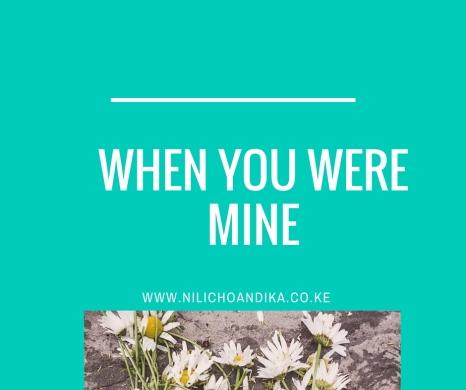 when you were mine(1)