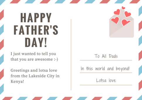 HAPPYFATHER'S DAY!